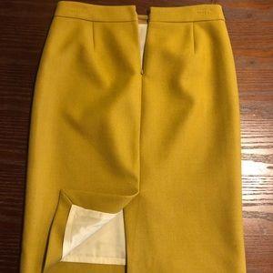 J crew number 2 pencil skirt
